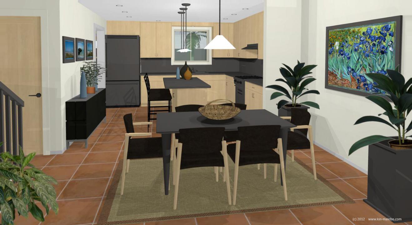 Maison jumel e de 150 m2 la cit kin malebo for Prix maison 150 m2 rt 2012