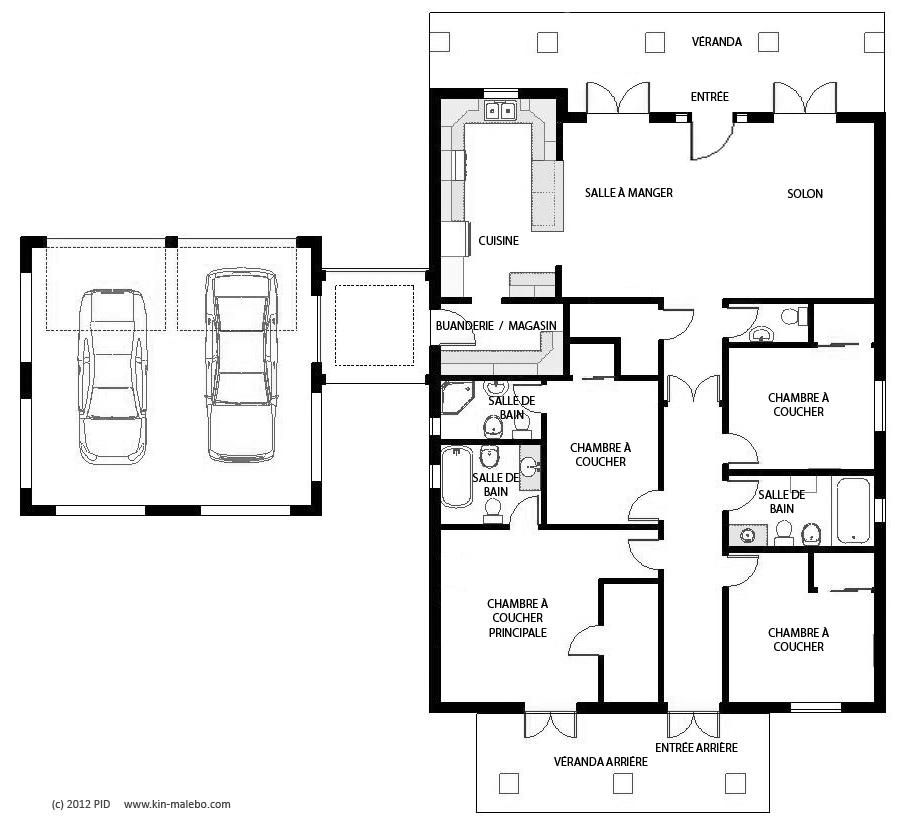 Maison Individuelle De 173 M2 | La Cité Kin-Malebo